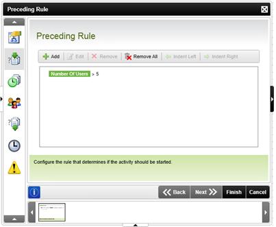 Figure 9 - New Preceding Rule