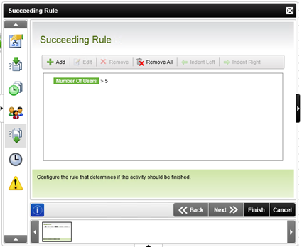 Figure 9 - New Succeeding Rule