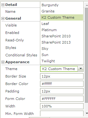 4 - Applying custom theme