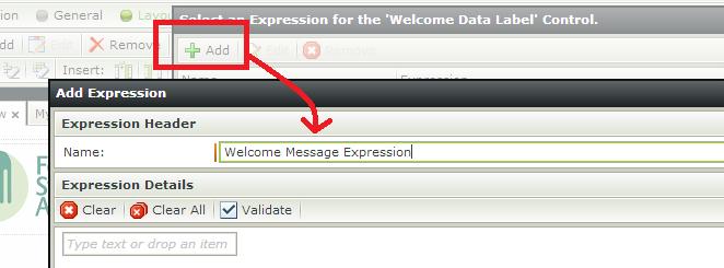 K2 SmartForms - Display Users Name - Add Expression