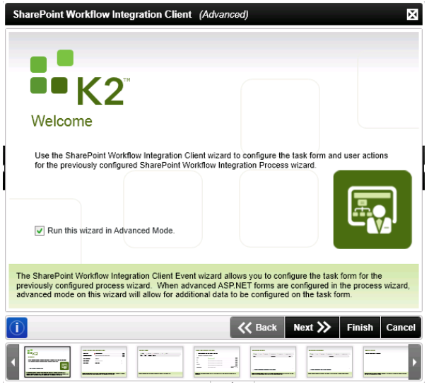 K2 for SharePoint Wizard