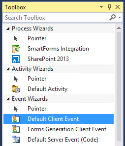 Figure 1 - k2 default client event