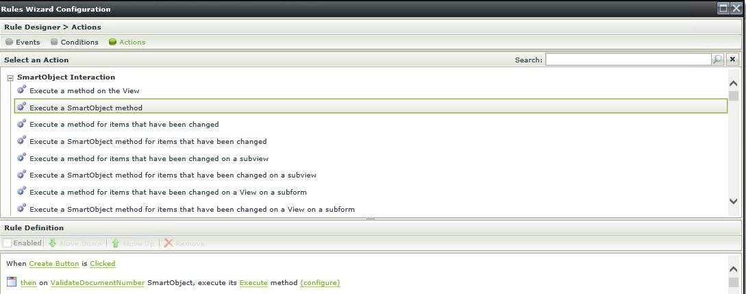 7 K2 SmartForms Server Validation - K2 SmartForm Rules Configuration