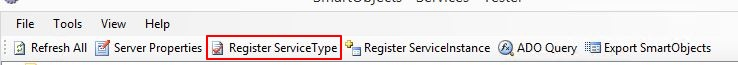 5 - Register Service Type