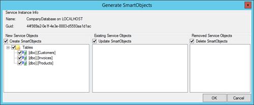 Figure 10 - Generate SmartObjects
