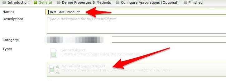 3 - Creating a SmartObject in K2