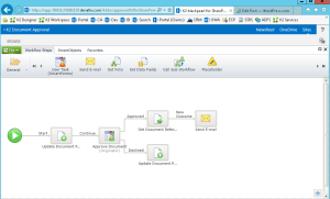 How to create a workflow in K2 for SharePoint