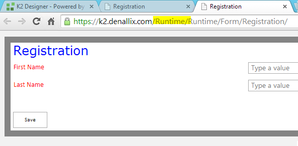 Runtime CSS