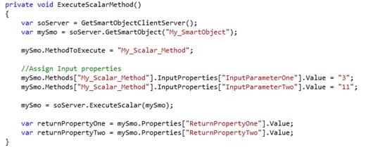 03 - Scalar Method Execution