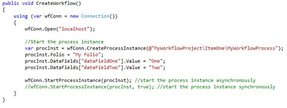 07 - Workflow Process Execution