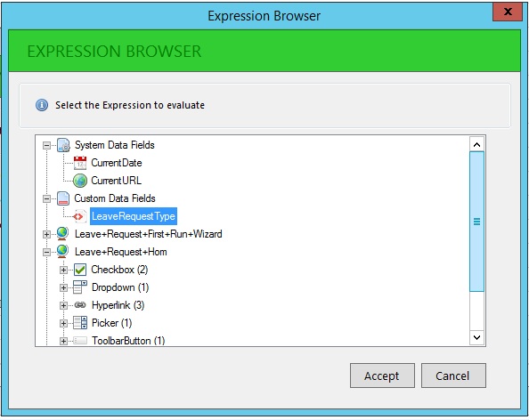 6 - Expression Browser