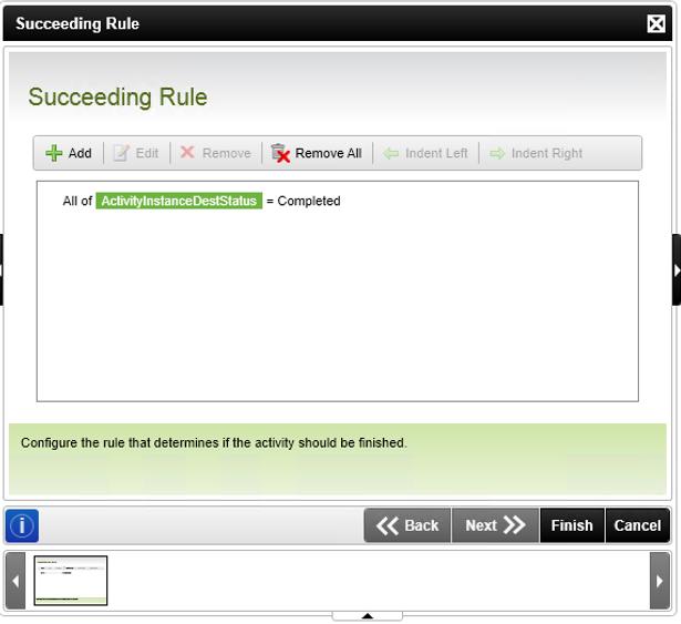7 - Succeeding Rule