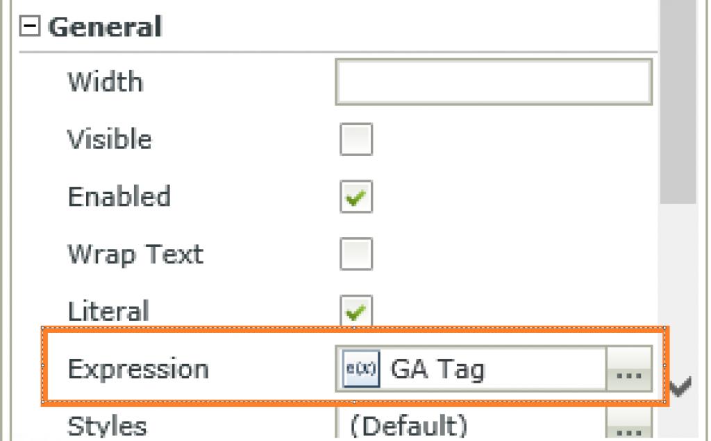 Data Label - Expression