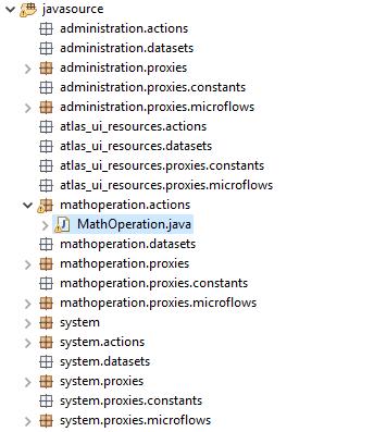 Custom Java in Mendix - Step 8
