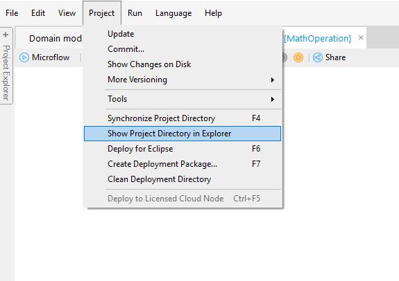 Custom Java in Mendix - Step 7