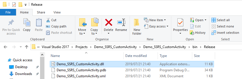 06 - DLL Created - Copy- UIPath Custom Activity to Generate a SSRS Report