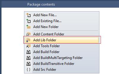 08 - Add Lib Folder - UIPath Custom Activity – Generate SSRS Report