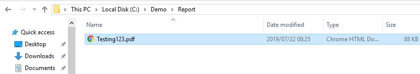 21 - PDF Generated Report - UIPath Custom Activity – Generate SSRS Report
