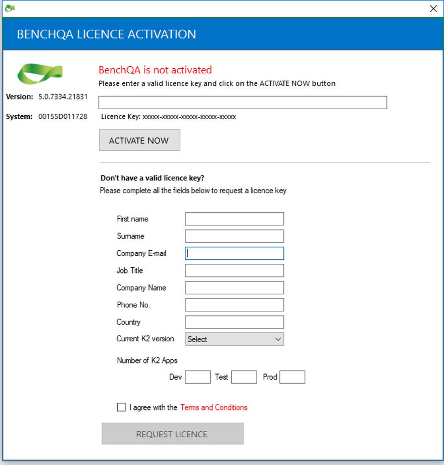 Register BenchQA